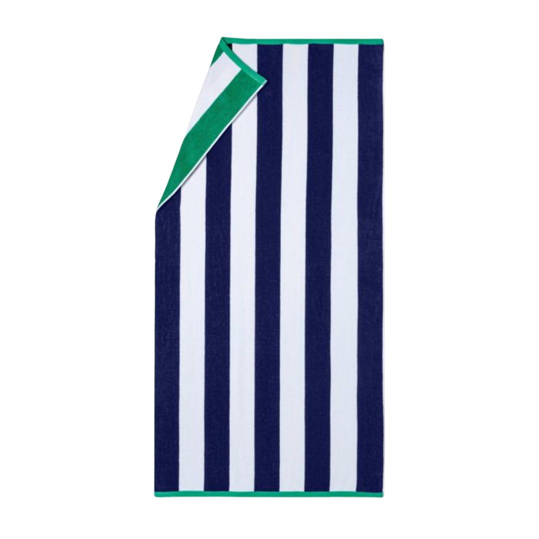 affordable cabana stripe beach towel