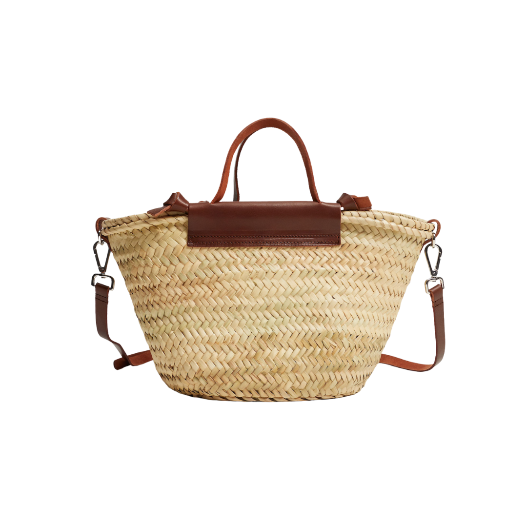 straw tote under $100, spring bags | louella reese