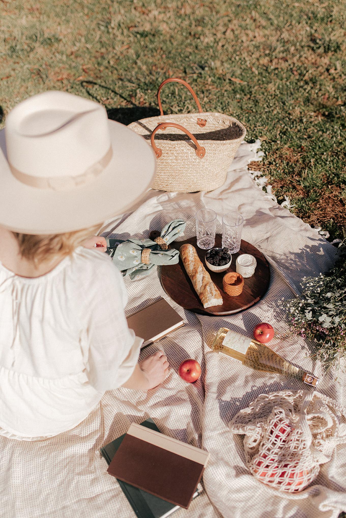 Neutral Picnic Aesthetics | Louella Reese