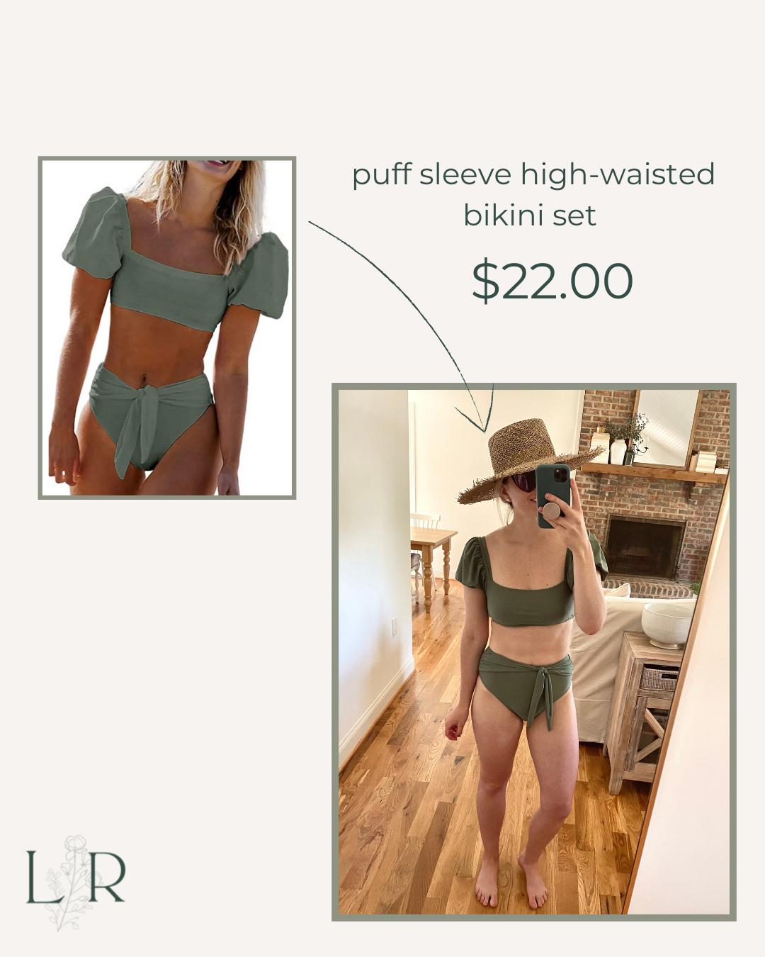 Affordable High-waisted bikini for Summer   Louella Reese