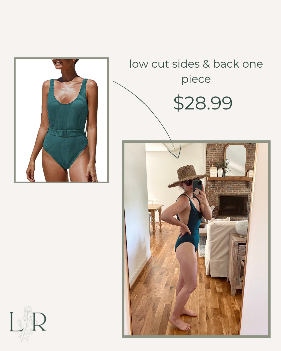 Sexy One Piece Swimsuit for Summer   Louella Reese