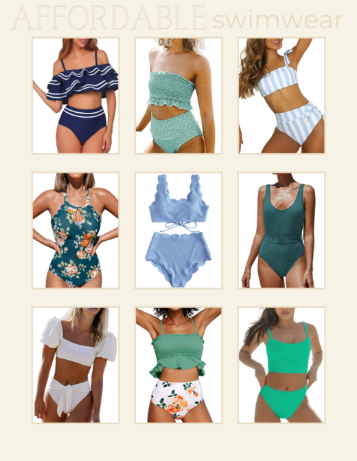 Affordable Swimwear for Summer, 9 Swimsuits under $30 | Louella Reese