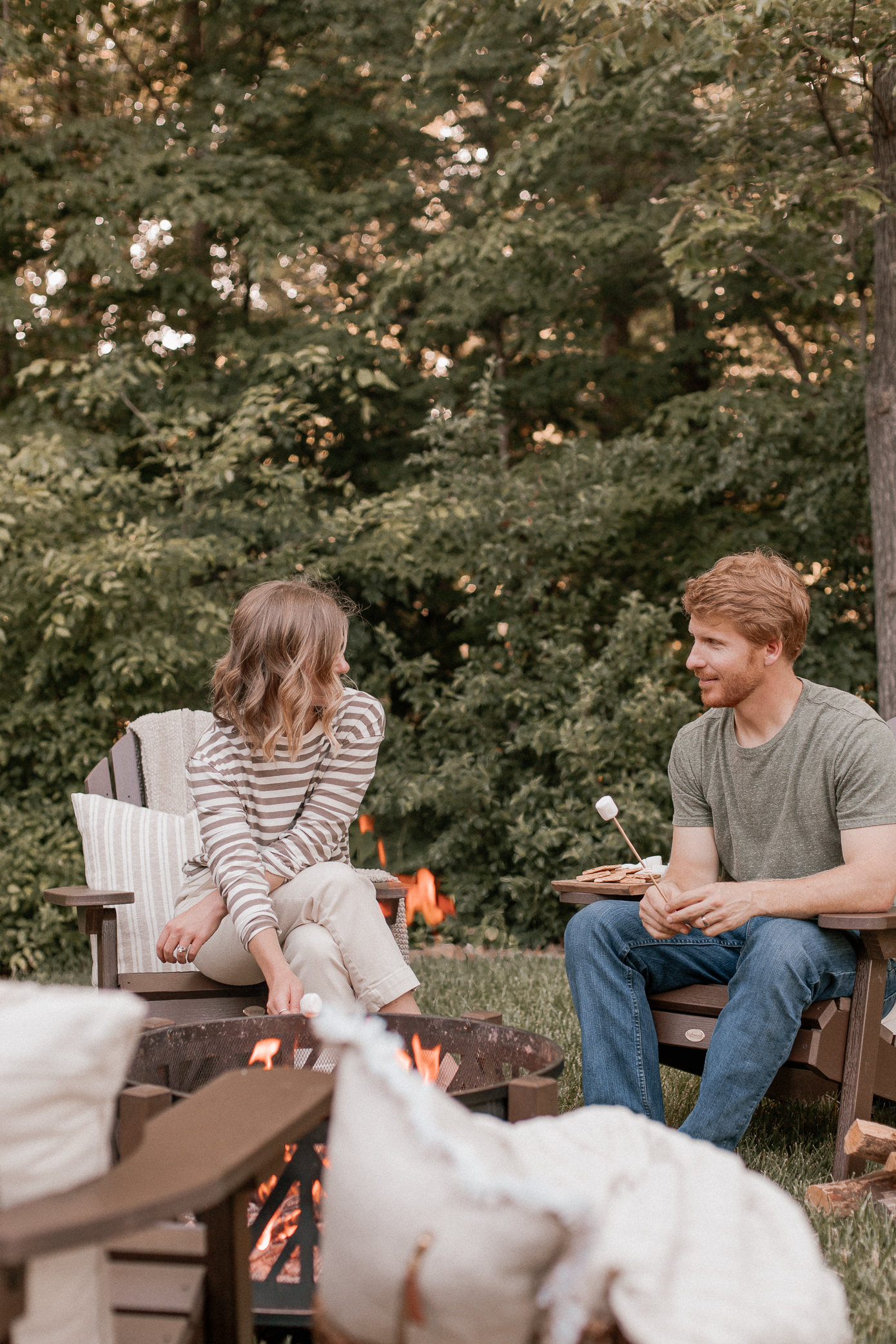 at home summer date night ideas | Louella Reese