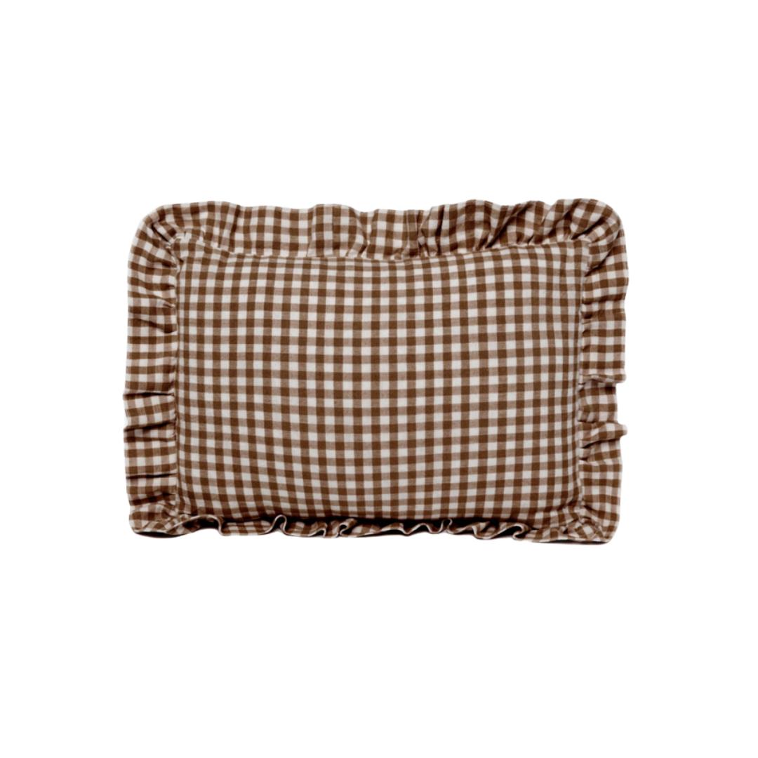 mini gingham lumbar pillow | Louella Reese