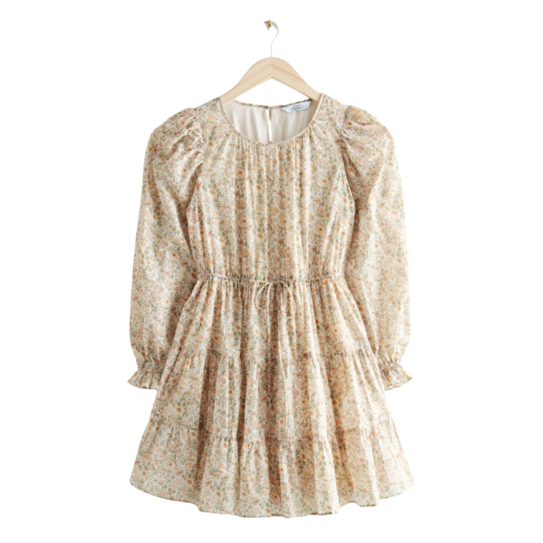 floral summer dress | Louella Reese