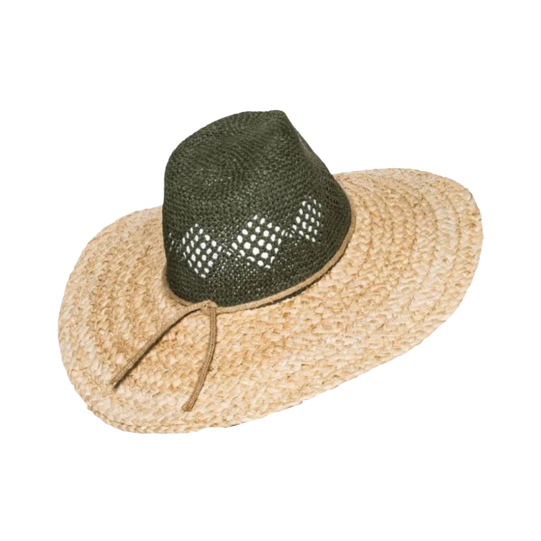 $20 straw sun hat, lifestyle | Louella Reese