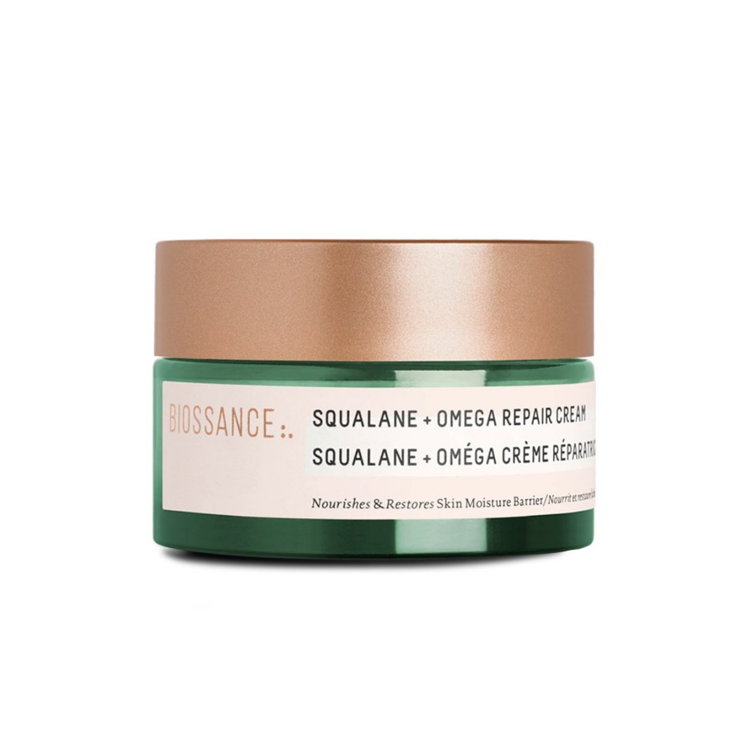 Squalane + Omega Repair Cream, clean beauty | Louella Reese