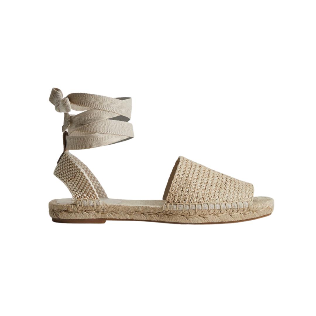 neutral summer sandals   Louella Reese