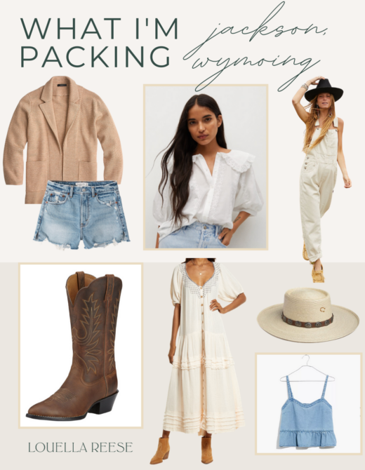 Jackson Hole Wyoming Packing List | Louella Reese
