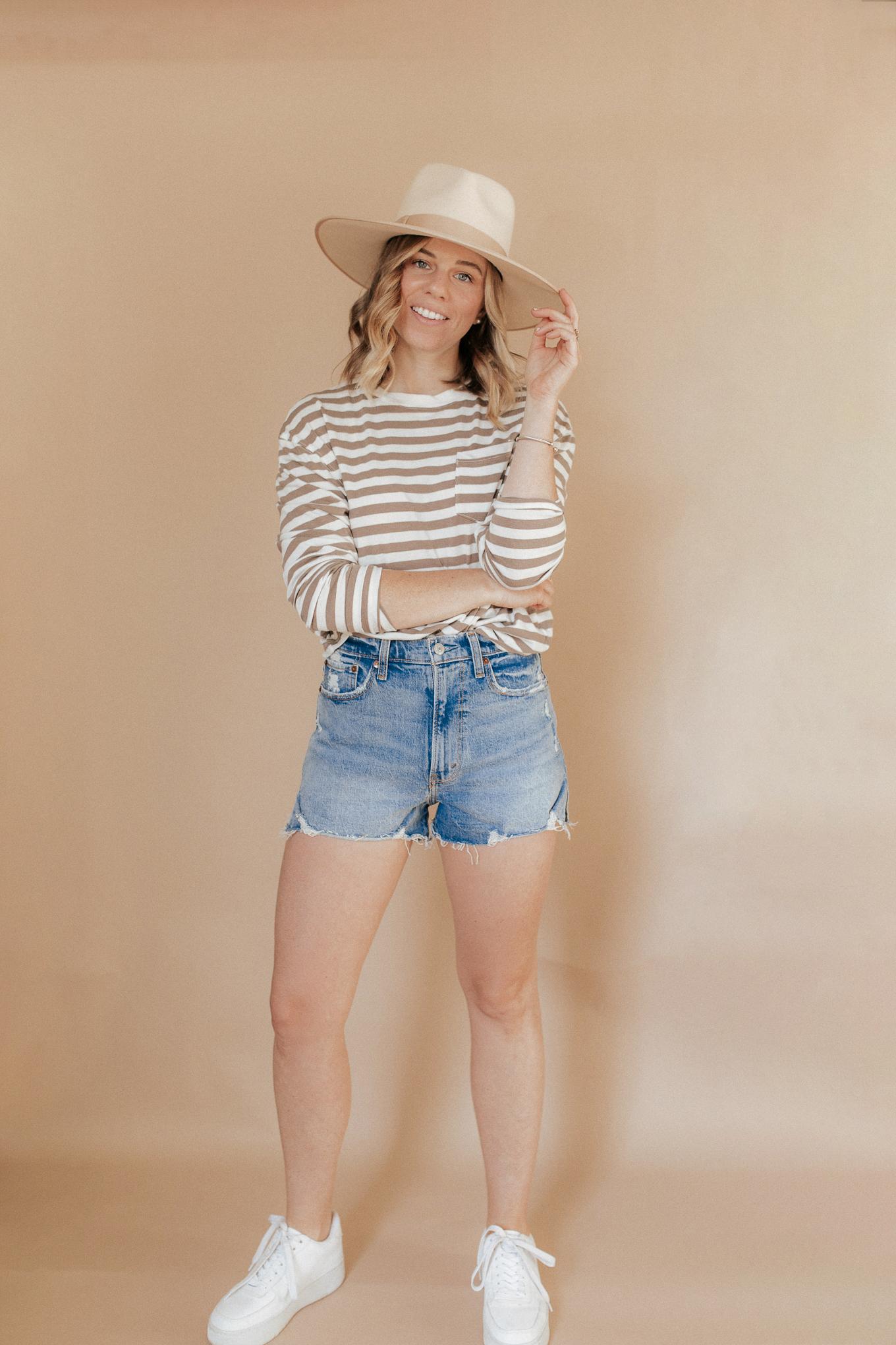 Cut Off Denim Shorts | Louella Reese