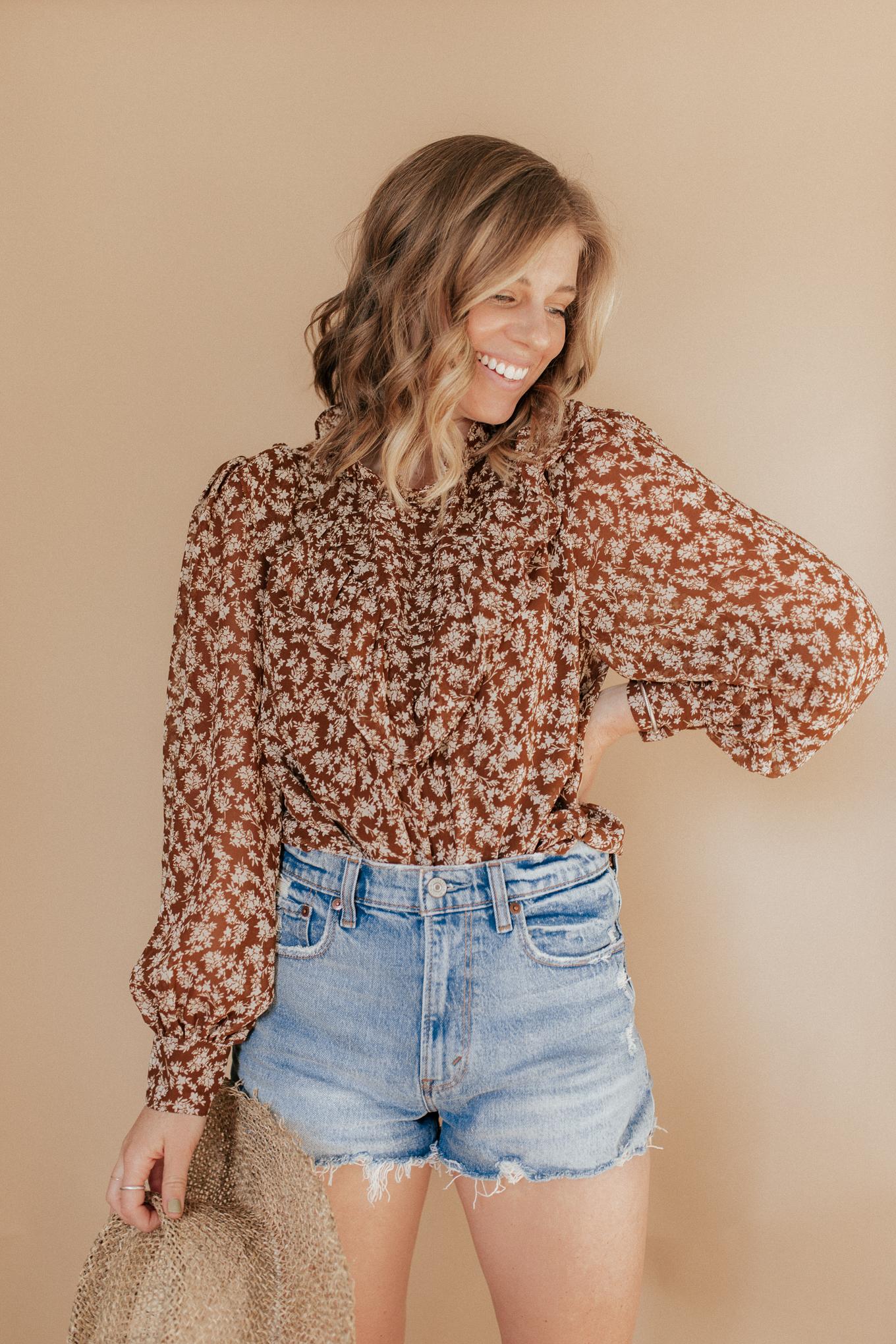 Abercrombie Denim Shorts Guide | Louella Reese