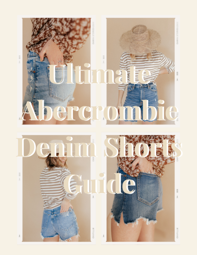 Ultimate Abercrombie Denim Shorts Guide | Louella Reese