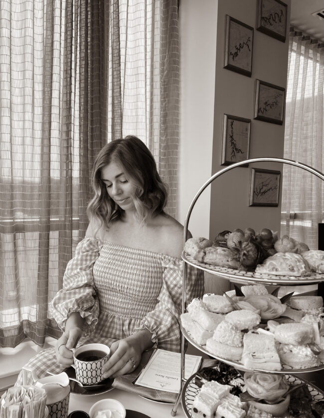 The Tennessean Hotel Afternoon Tea | Louella Reese