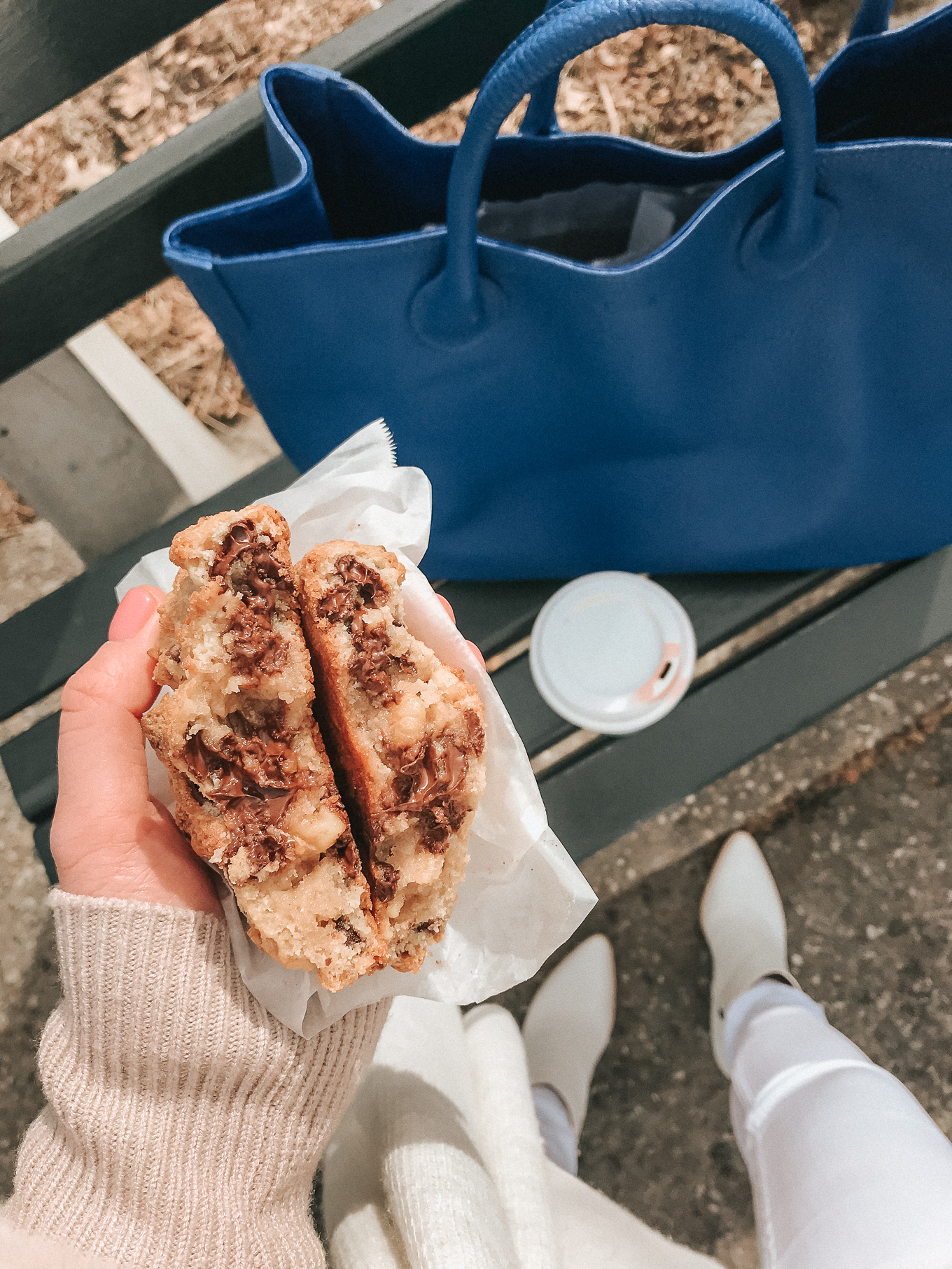 Levain Bakery Cookie Review | Louella Reese