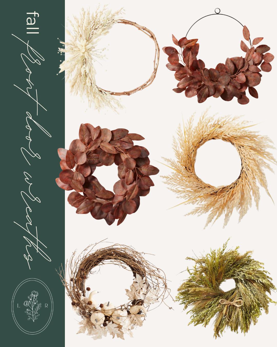 Fall Decor Finds, Fall Wreaths | Louella Reese
