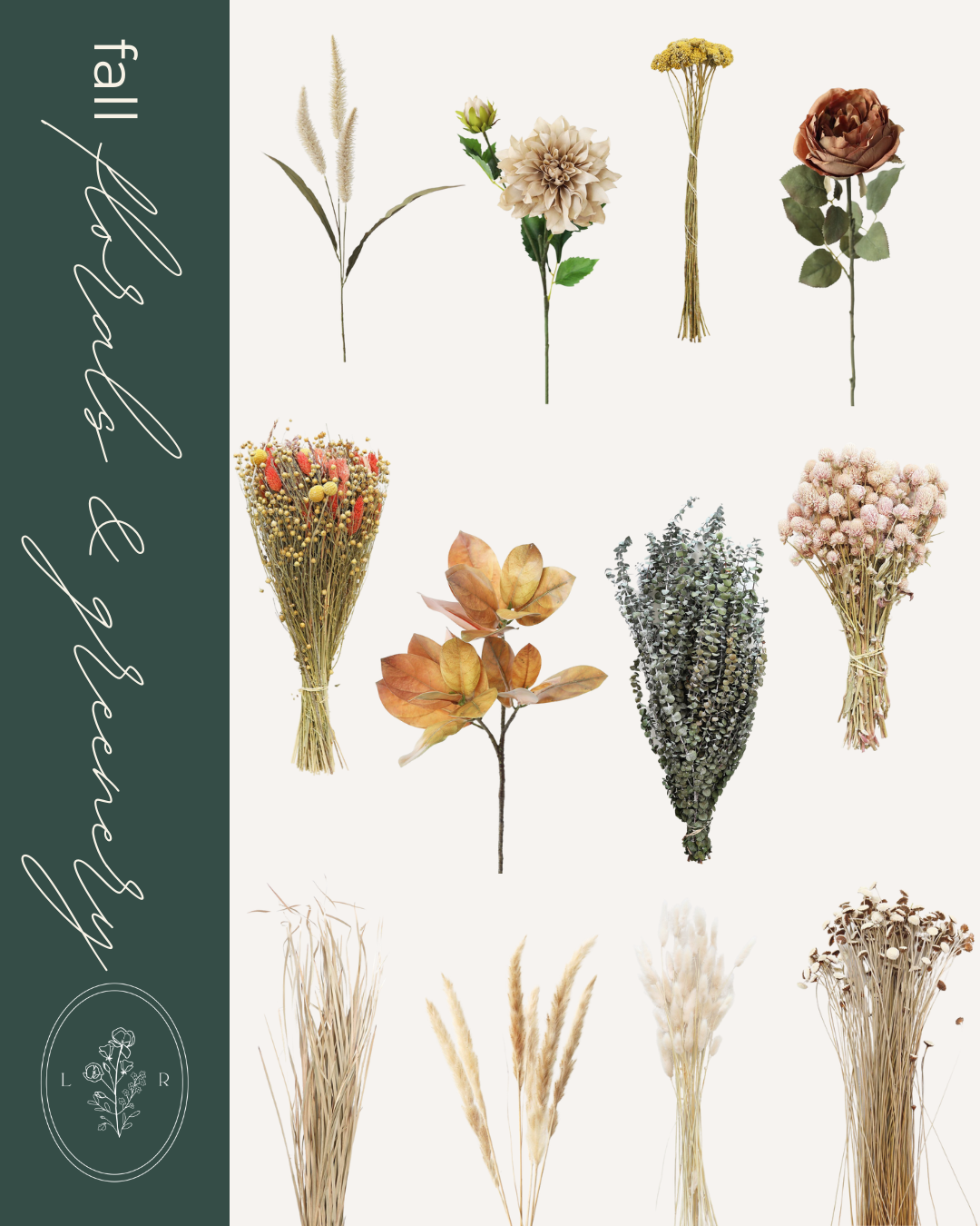 Fall Home Decor Finds, Fall Florals | Louella Reese