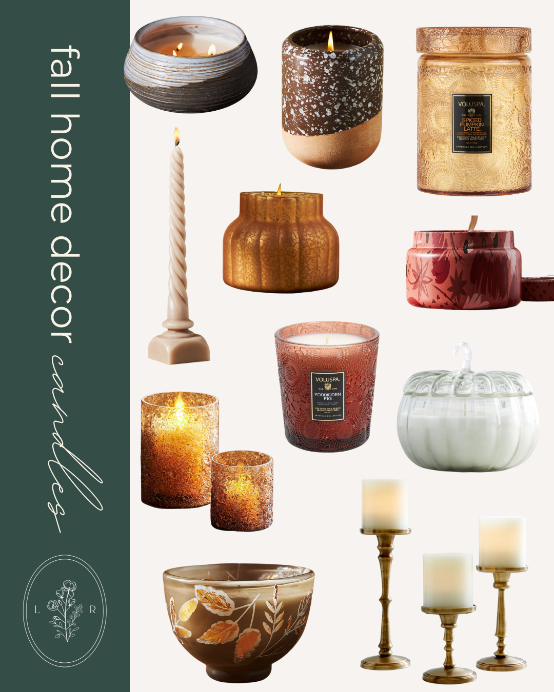 Fall Decor Finds, Fall Candles | Louella Reese