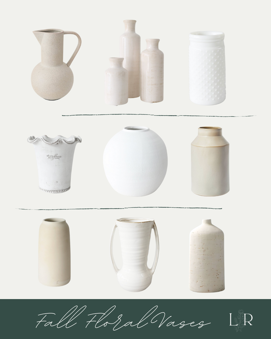 Neutral Vases | Louella Reese