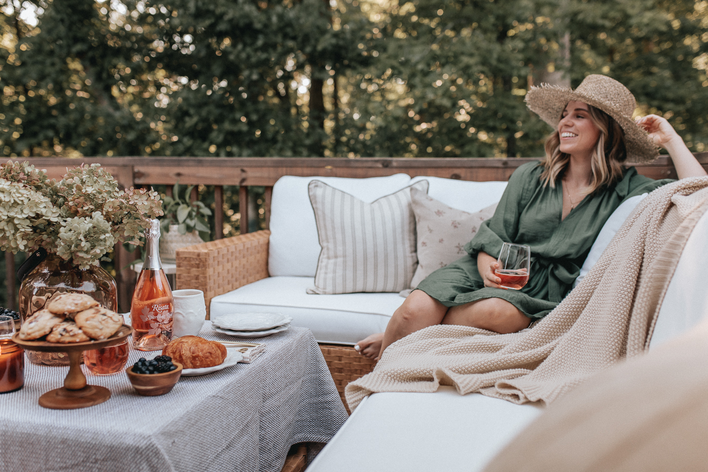 outdoor brunch | Louella Reese