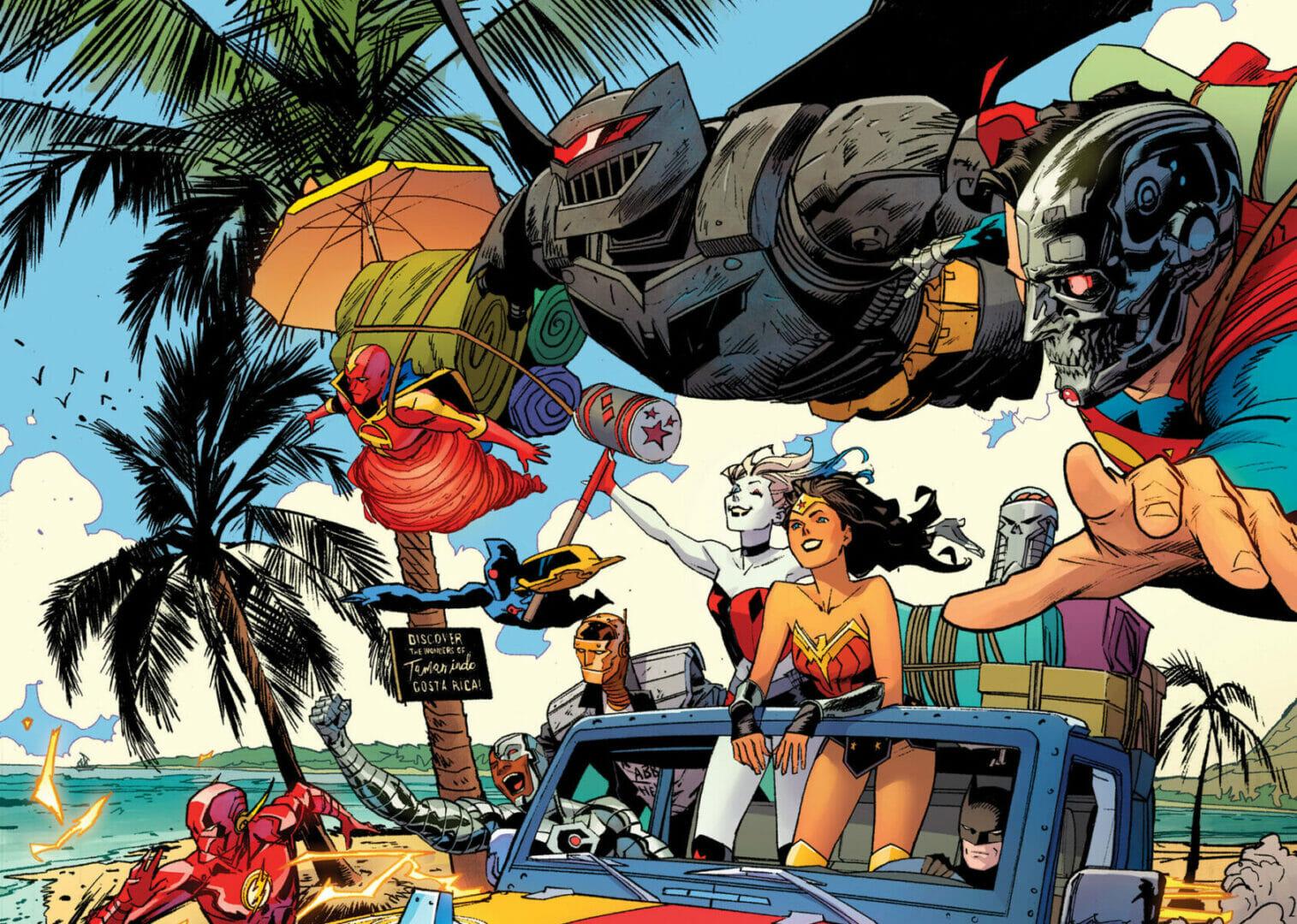 DC Comics Cybernetic