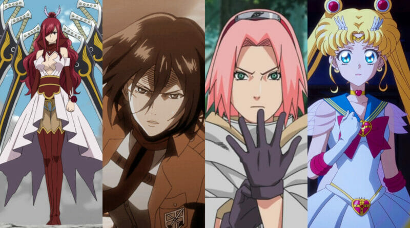 Badass Women In Anime
