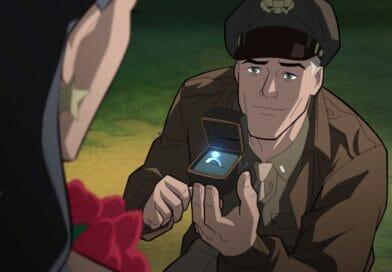 Justice Society World War II Steve Trevor Wonder Woman The Nerdy Basement