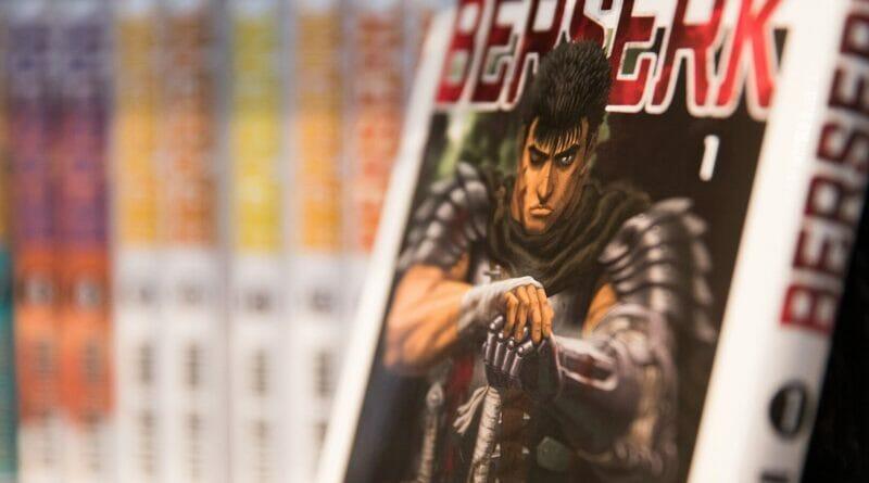 Berserk Kentaro Miura The Nerdy Basement Presents Anime In The Basement