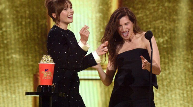 MTV Awards Elizabeth Olsen Kathryn Hahn WandaVision The Nerdy Basement