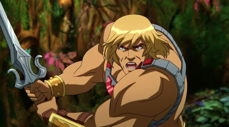 Masters of the Universe: Revelation He-Man The Nerdy Basement