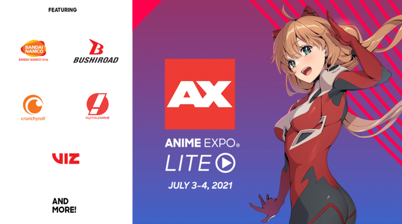 Anime Expo Lite 2021 The Nerdy Basement