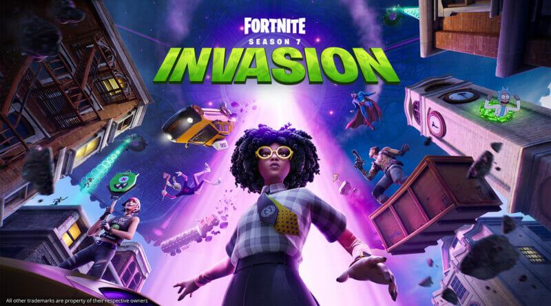Fortnite Season 7 Invasion The Nerdy Basement