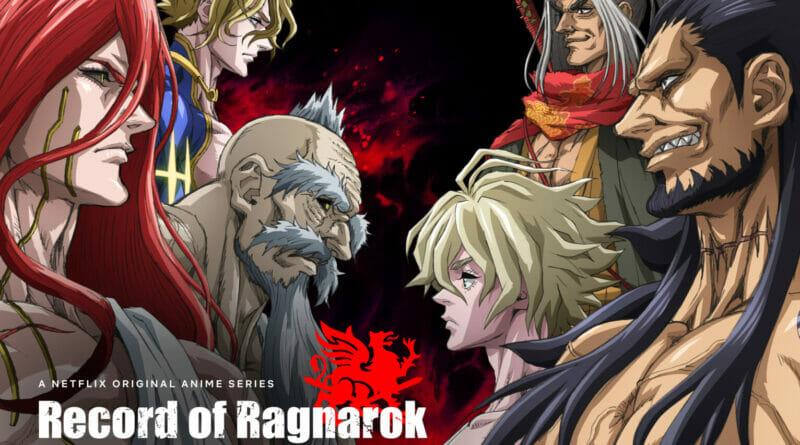 Record of Ragnarok Key Art The Nerdy Basement