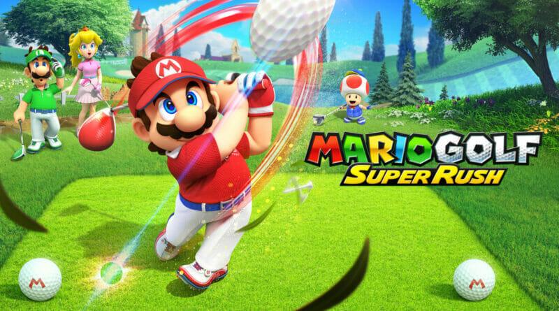 Mario Golf Super Rush Review The Nerdy Basement