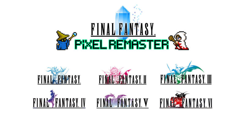 Final Fantasy Pixel Remaster Release Date The Nerdy Basement