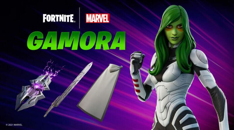 Fortnite x Marvel Gamora Skin Bundle The Nerdy Basement