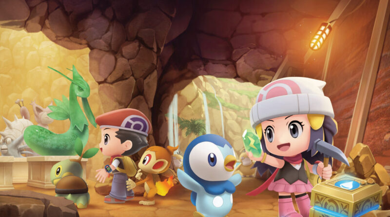 Pokemon Presents 2021 Pokemon Brilliant Diamond and Pokemon Shining Pearl The Nerdy Basement