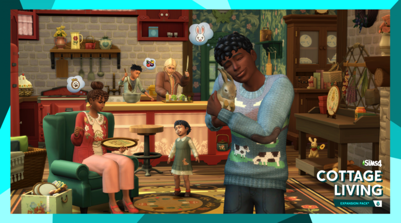 The Sims 4 Cottage Living Expansion Pack The Nerdy Basement