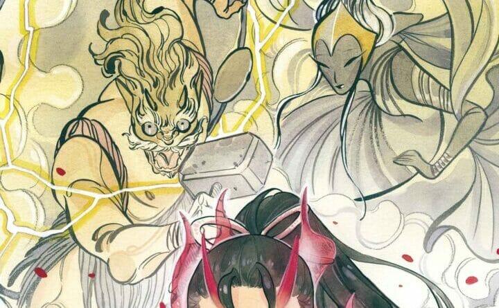 Peach Momoko's Demon Days: Rising Storm #1 The Nerdy Basement