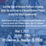 May Day of Service @ Fifth Ward