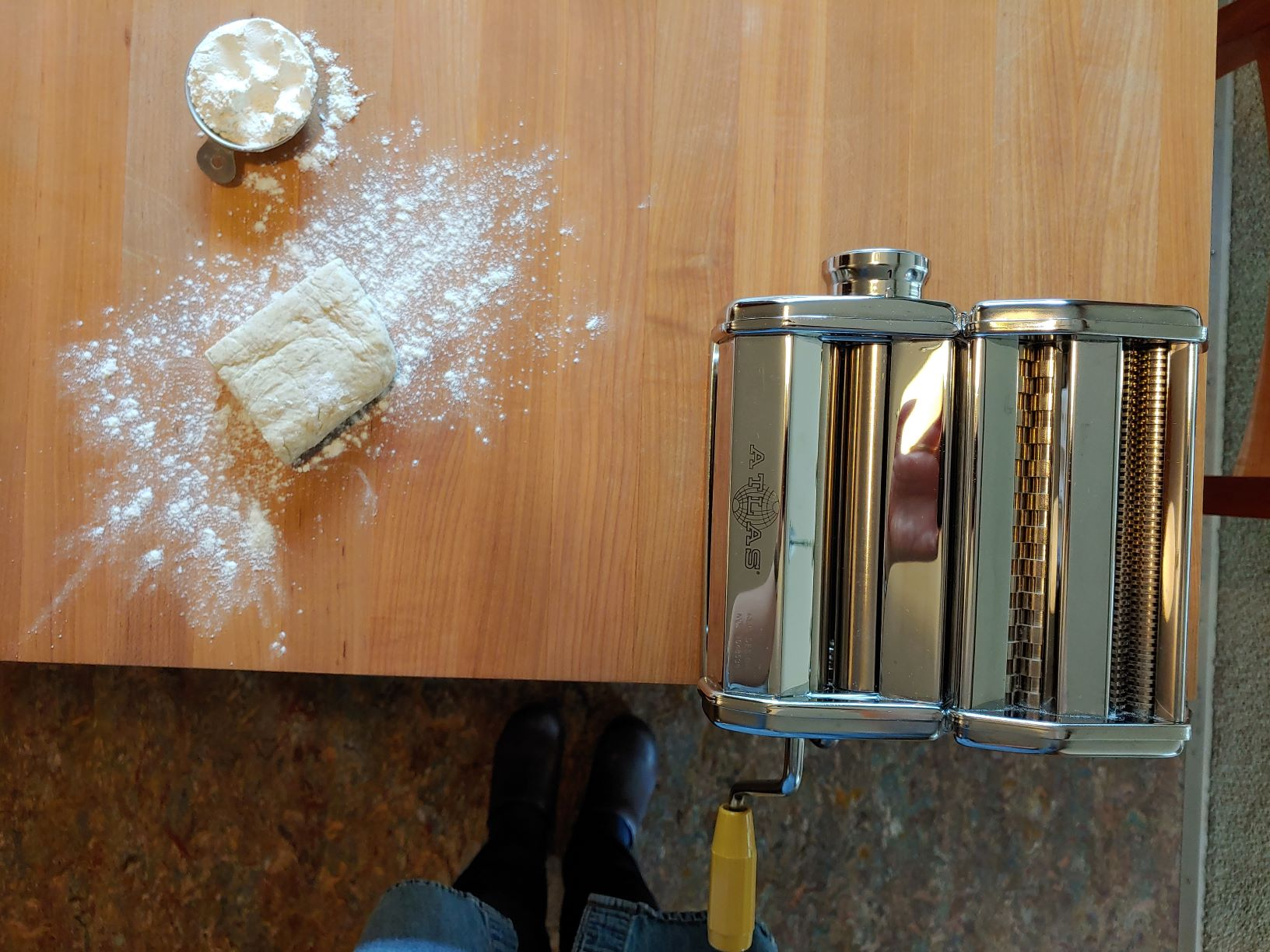 A Trick for Homemade Crackers