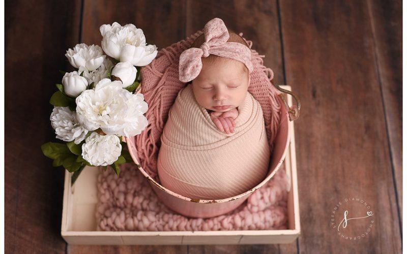 Bergen County Newborn Studio | Love Those Little Baby Rolls