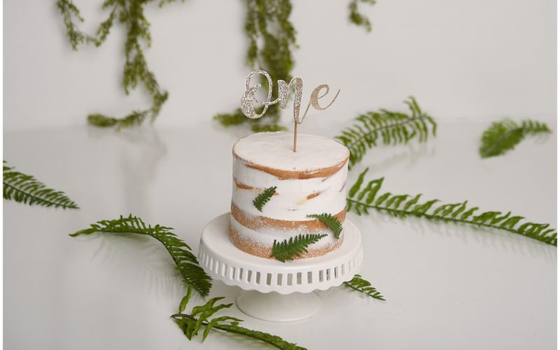New Jersey Baby Photographer | Chase's Jungle Cake Smash