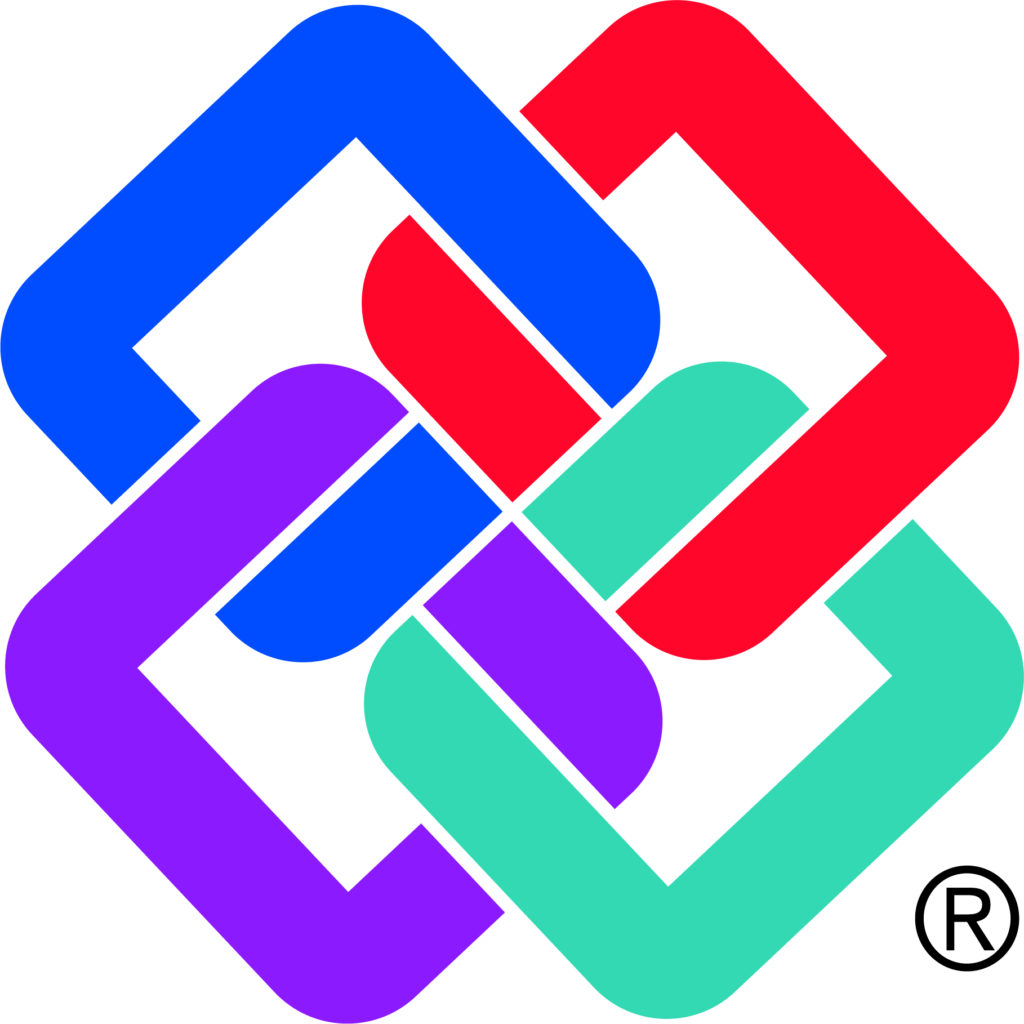 Logo of BuildingSMART International, which works for the creation & adoption of open, international BIM software standards.