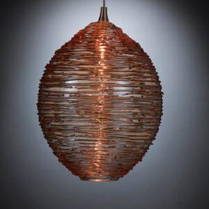 Cocoon Bronze Pendant Lights