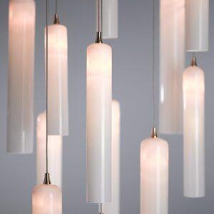 Tube Pendant Lighting Chandelier