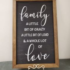 Framed-Family-A-Little-Bit-Crazy