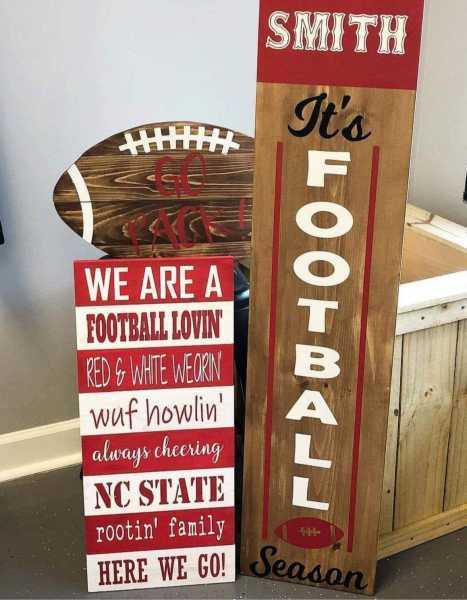 Football-season-Pallet-sign-Football-large-Plank