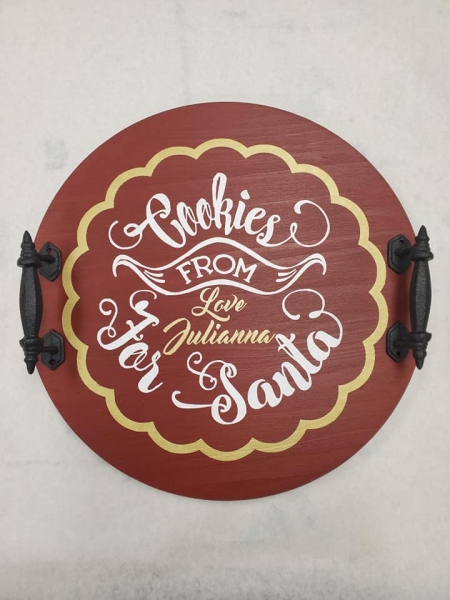 Tray-Round-Cookies-For-Santa-Name