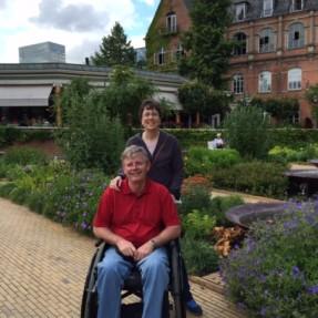 Dr. Whitman and Linda McMillin