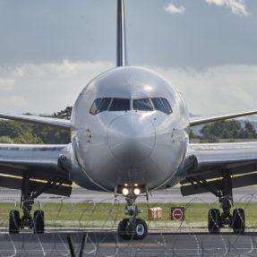 Upclose Photo of Airplane